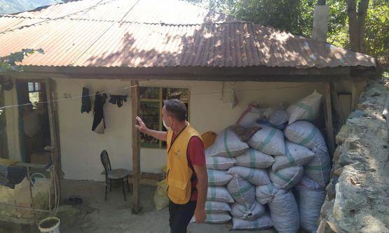 Giresun'un Dereli İlçesine Gıda Yardımları Ulaştırıldı