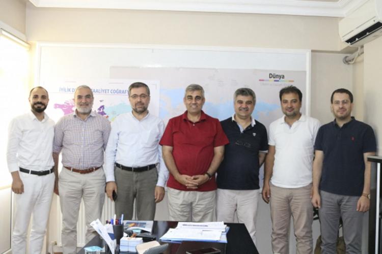 Anadolu Platformu'ndan Derneğimize Ziyaret