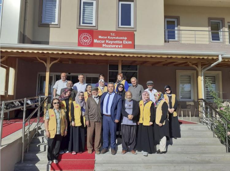 Gönüllülerimiz Kırşehir Mucur Hayrettin Ekim Huzurevi'nde