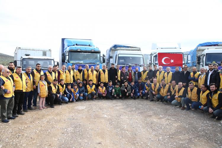 İyilik Derneği'nden İdlib Kamplarına İnsani Yardım