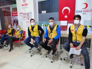 İyilik Kanımızda Var Dedik Türk Kızılayı'nın Çağrısına Koştuk
