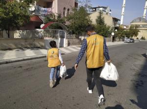 Malatya İyilik Derneği İhtiyaç Sahibi Ailelerin Yanında
