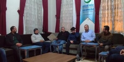 İyilik Derneği Genel Merkez Yetkilileri Mersin'deydi