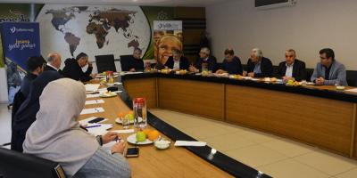 İyilik Derneği Yönetim Kurulu Malatya'da Toplandı.