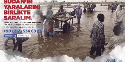 """Sel Felaketiyle Yıkılan Sudan'da """"Türk Köyleri"""" Kuruluyor"""