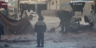 Suriye'nin Kuzey Batı Kampları   İyilik Derneği