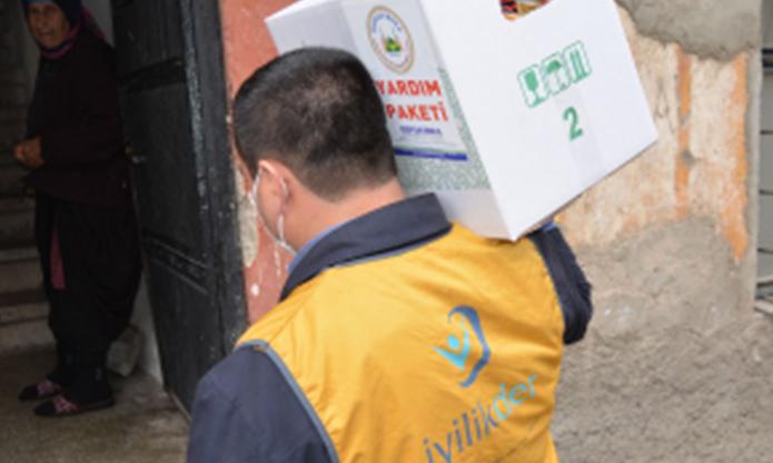 Kahramanmaraş'ta Ramazan Yardımları Dağıtımına Başlandı